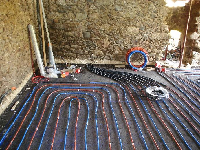 Test for Chape sur plancher chauffant